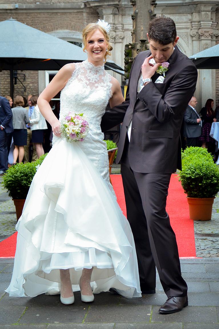 Hochzeitsfotograf in der Wolkenburg / Köln